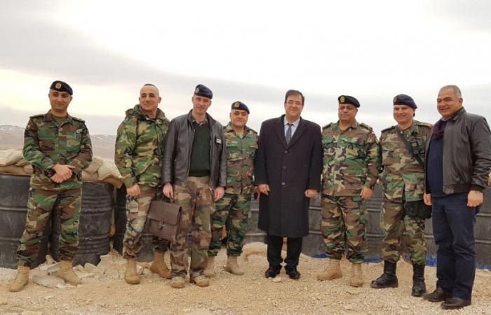 فوشيه تفقَّد وحدات الجيش المنتشرة في عرسال والقاع