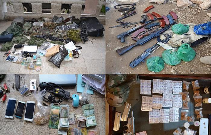 """""""جردة"""" كانون الثاني.. توقيف 3744 شخصاً وضبط أسلحة وذخائر"""