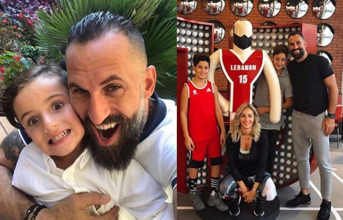 صورة جديدة تجمع فادي الخطيب بزوجته وأولاده