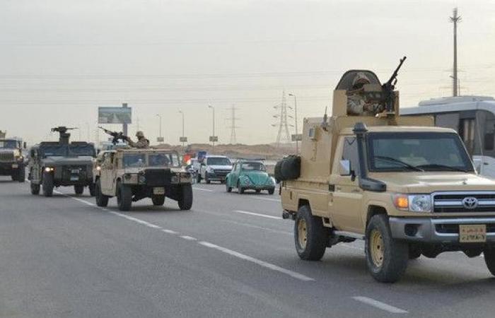 عملية سيناء.. القضاء على 12 إرهابياً وضبط 92 مطلوباً