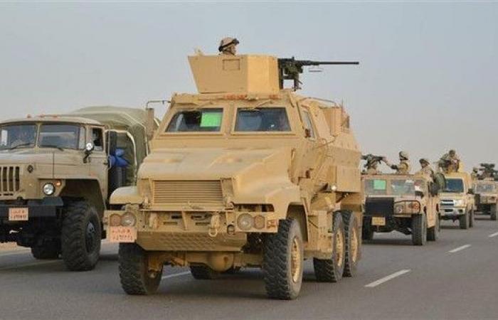 شاهد أسلحة مصرية تشارك لأول مرة بعملية تطهير سيناء 2018