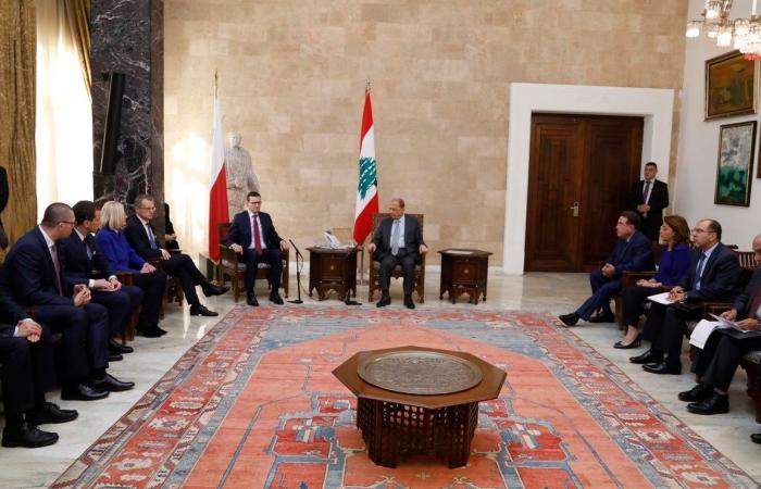 عون تلقى دعوة لزيارة بولندا: لدعم لبنان كمركز لحوار الأديان