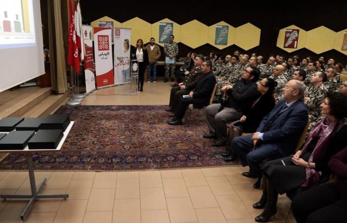 حفل تخريج ضباط وعسكريين من الأمن العام