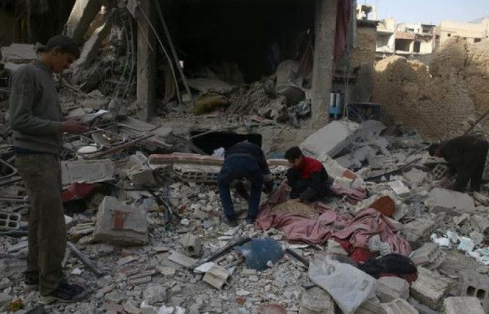 6 قتلى بينهم طفلان في غارات للنظام السوري على الغوطة