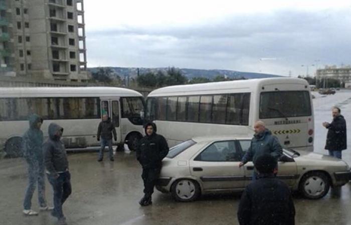 سائقو الباصات في الشمال: للمشاركة في الإضراب يوم الخميس