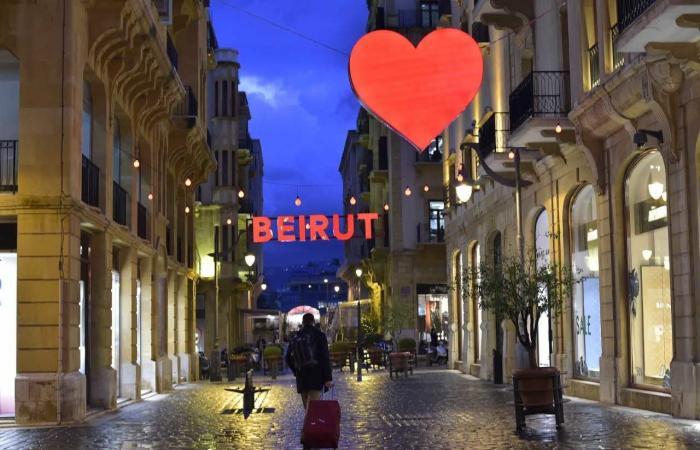 بالصور: في عيد الحبّ.. بيروت قلبٌ نابض بالحياة!