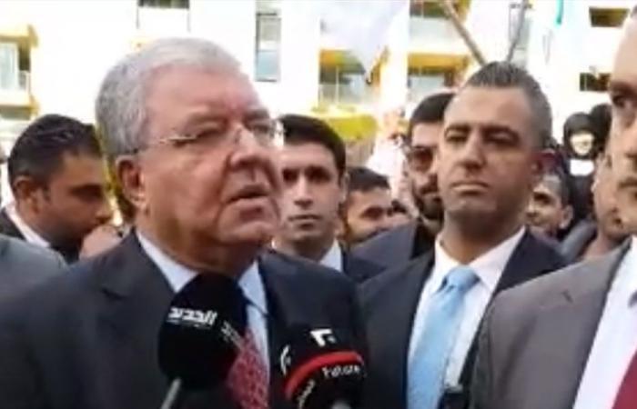 المشنوق بذكرى 14 شباط: نحن اليوم إلى جانب سعد الحريري