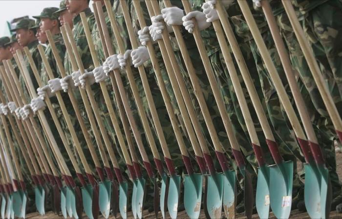تكليف 60 ألف جندي صيني بغرس أشجار لدرء التلوث