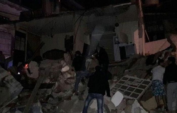 هذا ما قاله علي عمّار واللواء خير بعد انهيار مبنى في برج البراجنة
