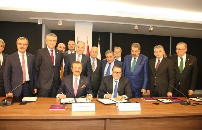 مذكرة تفاهم لتنمية التعاون الاقتصادي بين لبنان وتركيا