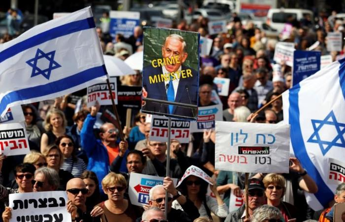 ملفات الفساد تطارد نتنياهو في الشارع الإسرائيلي