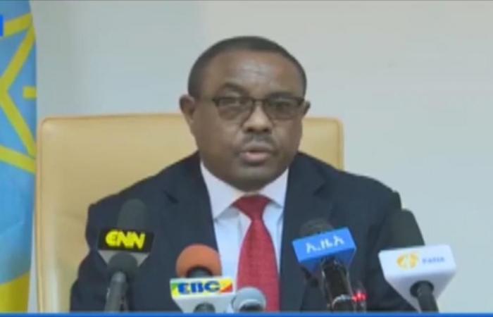 توجه لإعلان الطوارئ بإثيوبيا بعد استقالة ديسيلين