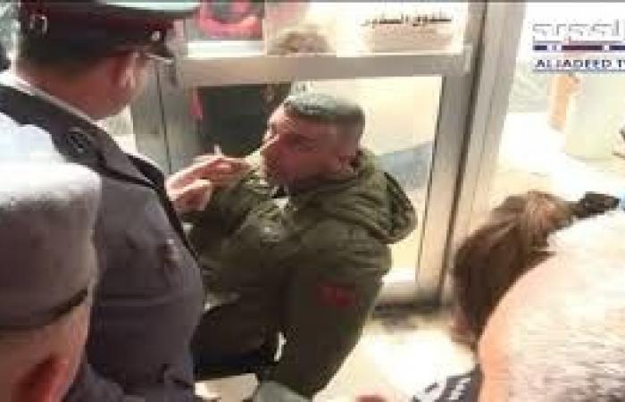 """بعد """"صفعة"""" الضابط للمياوم أمس.. قوى الأمن توضح ملابسات الحادثة"""