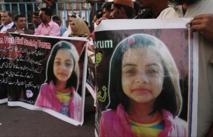 الإعدام لسفاح لاهور.. اغتصب وقتل ثماني طفلات