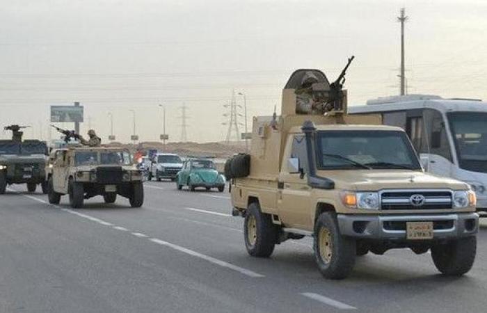 ثامن أيام عملية سيناء.. مقتل 3 إرهابيين وتوقيف 224