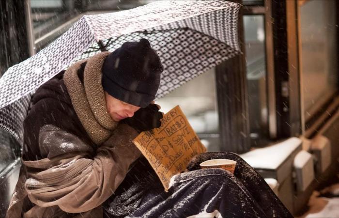 نصف مليون أميركي يفترشون الأرض في عز البرد
