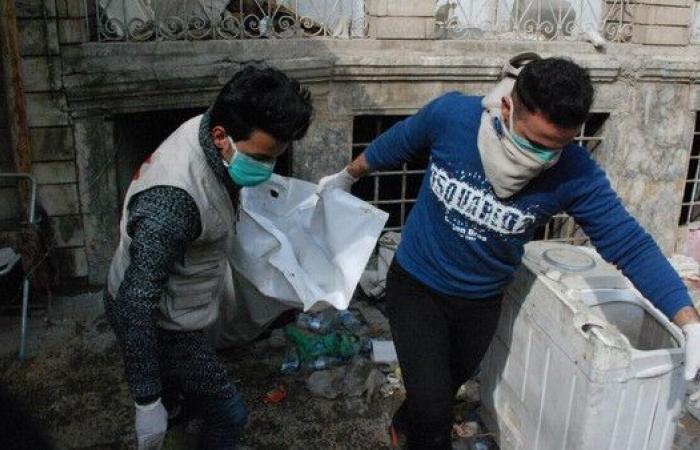 العراق.. انتشال 40 جثة من تحت الأنقاض في الموصل