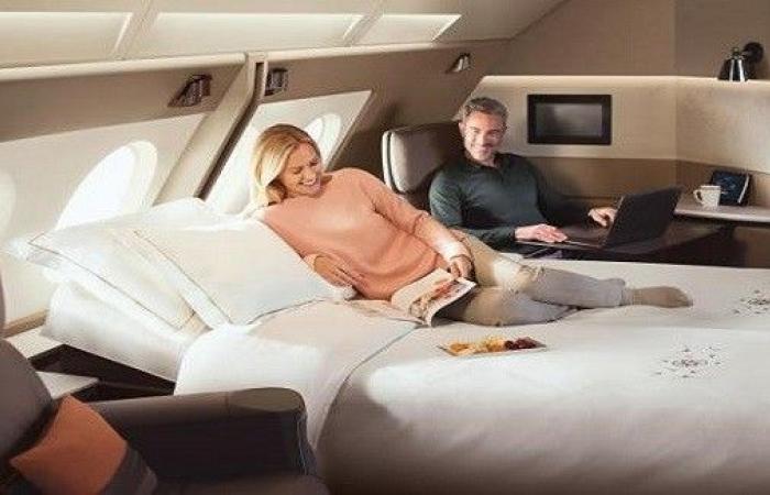 لمحبّي السفر.. أفضل الأسرّة في 8 شركات طيران عالميّة