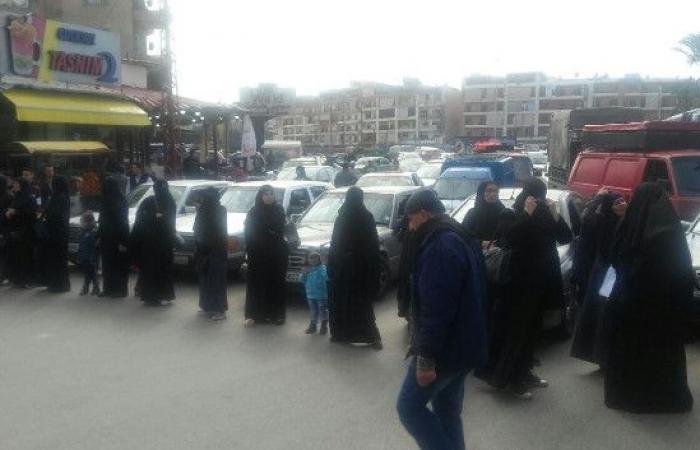 اعتصام لأهالي الموقوفين الإسلاميين عند مستديرة أبو علي بطرابلس