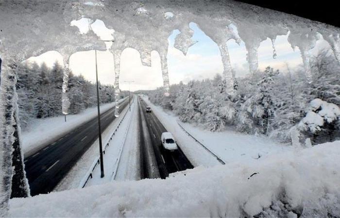 تحذير من الجليد: ضباب وأمطار وثلوج.. الحرارة في الارز -3!