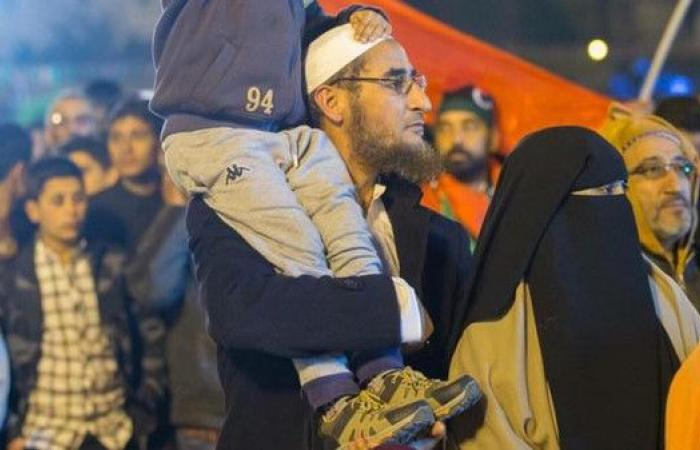 صور.. قيادي بالقاعدة يظهر في احتفالات ذكرى ثورة ليبيا