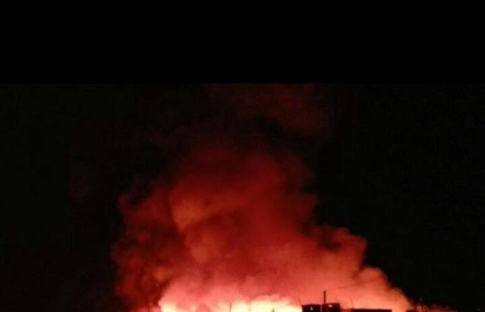 """""""صوبيا"""" أشعلت 12 خيمة في الوزاني ليلاً"""