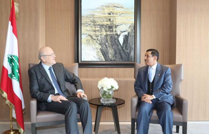 ميقاتي يستقبل السفير اليمني في زيارة تعارف
