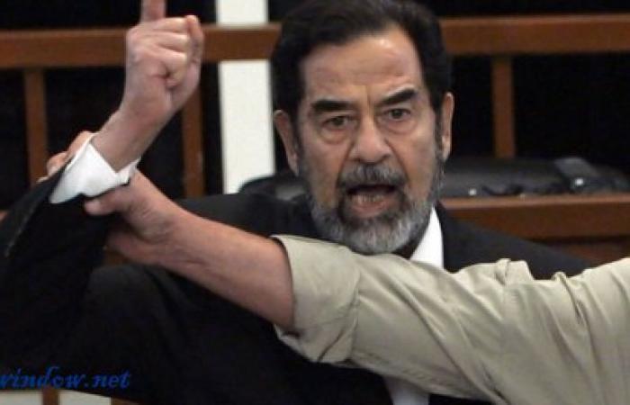 إستنفار بأحد المدارس بسبب صدام حسين