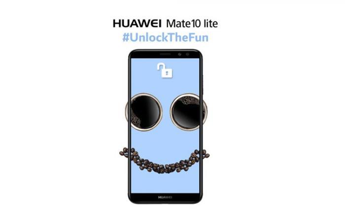 هواوي تعزز هاتفها الجديد Mate 10 lite بتقنية بصمة الوجه