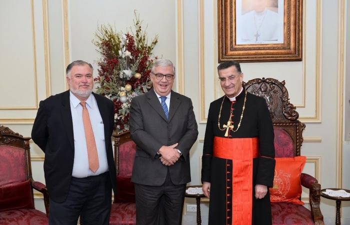 الراعي استقبل سفير المكسيك وكاردل ووفدًا من منتدى الشرق للتعددية