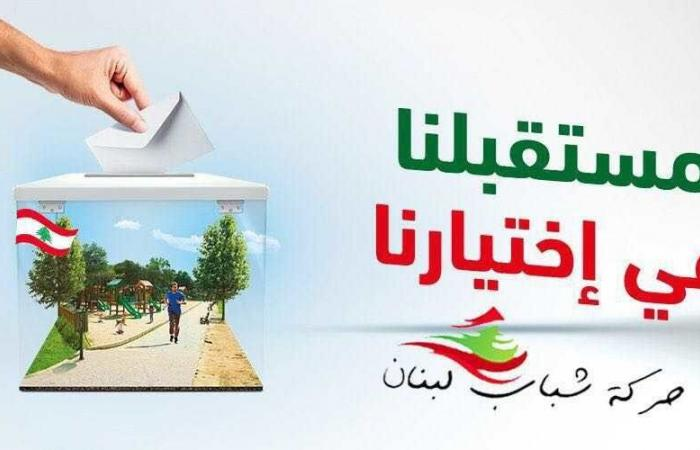 """""""حركة شباب لبنان"""" تعلن أسماء عدد من مرشحيها"""