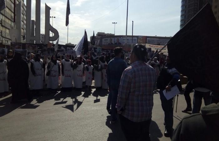 """اعتصام لحزب """"التحرير"""" في طرابلس تنديداً بقصف الغوطة"""