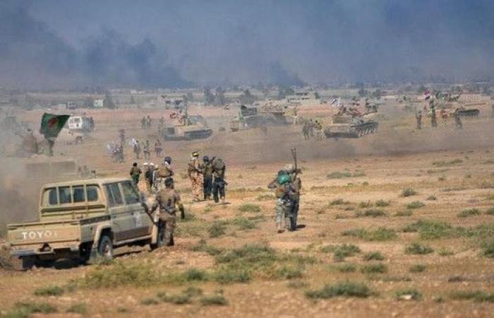 داعش ينصب كمينا ويقتل 27 من الحشد الشعبي شمال بغداد