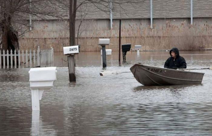 الأمطار تغرق الغرب الأوسط الأميركي وتقتل امرأة