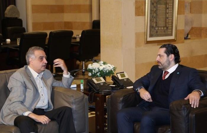 """الحريري التقى لاكروا واتفقا على أهمية الدور الوقائي لـ""""اليونيفيل"""""""