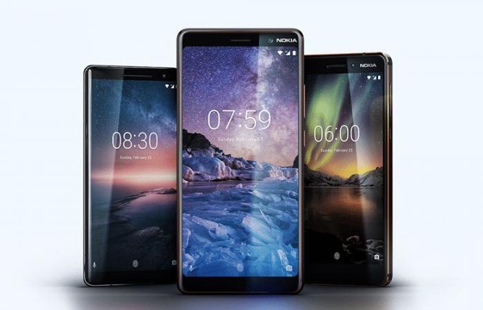 شركة HMD تطلق 5 هواتف نوكيا جديدة