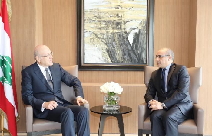 ميقاتي استقبل سفير تونس وبحث معه العلاقات الثنائية