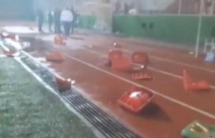 بالفيديو: معركة زغرتا تنتهي بتكسير ملعب المرداشية!