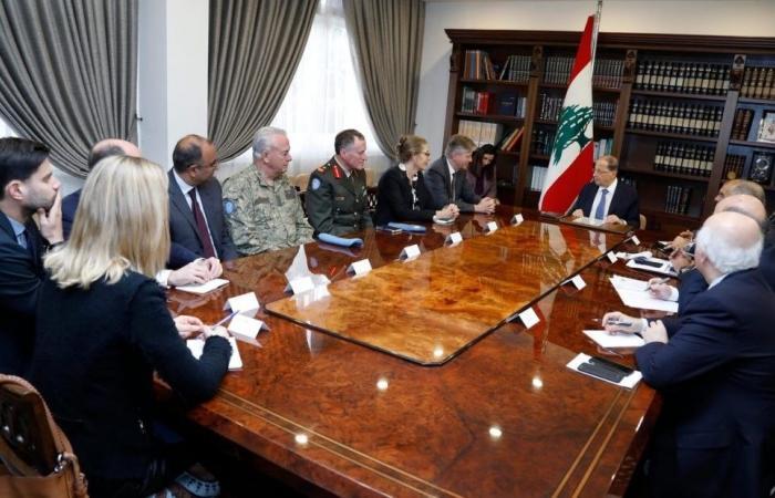 عون: لبنان مستعد للدفاع عن نفسه اذا اعتدت عليه اسرائيل