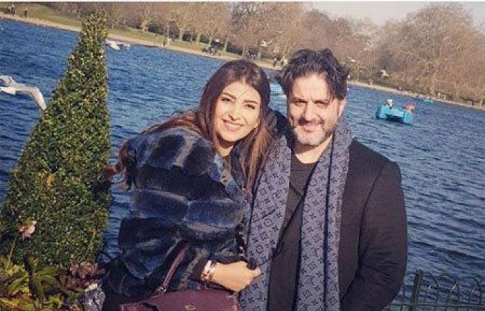 بالصور: ملحم زين وزوجته يستجمان في لندن