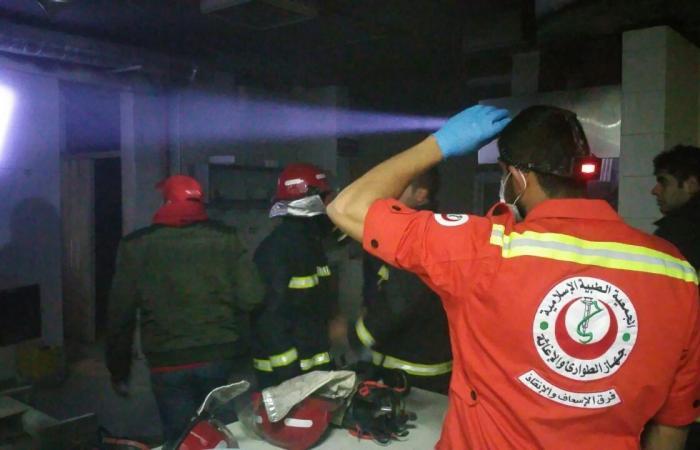 بالصور.. حريق في أفران wooden bakery بطرابلس