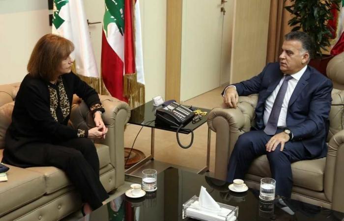 ابراهيم بحث مع ريتشارد التعاون مع السفارة الأميركية