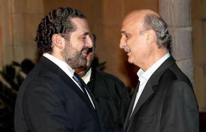 الحريري يلتقي جعجع بعد عودته من الرياض