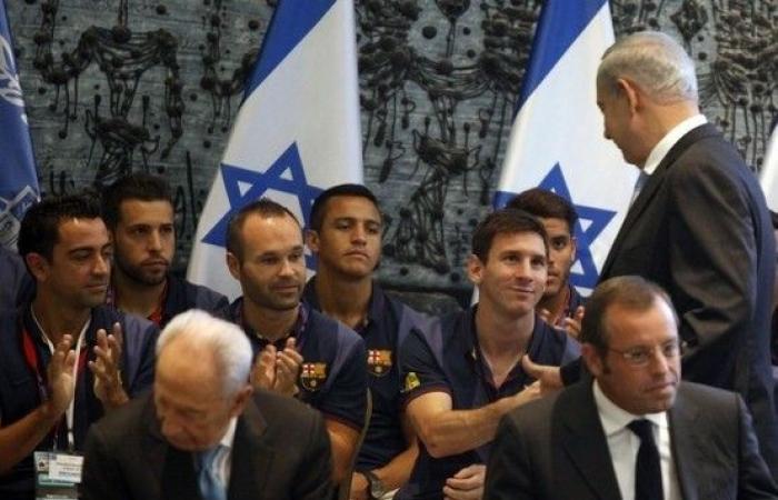 ميسي في حملة مع نساء اسرائيليات.. وغضب عربي عليه!