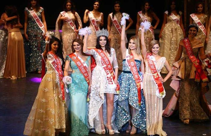 هيفاء غديرة تتربع على عرش ملكة جمال تونس 2017