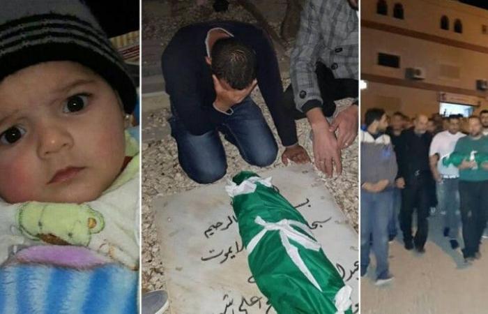 بالصور: حادثة مأساوية.. اختناق مفاجئ يسرق الطفلة سارة من حضن أبويها