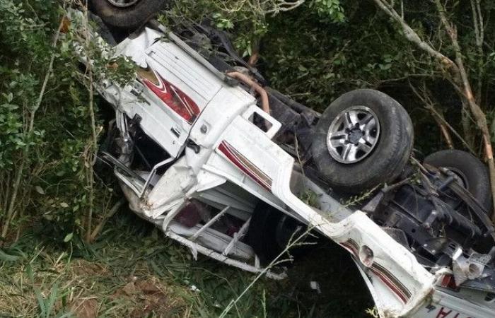 مأساة على طريق كفرحيم.. قضى جراء سقوط سيارته من مكان مرتفع