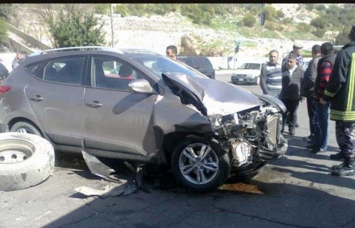 3 جرحى بحادث سير في طرابلس