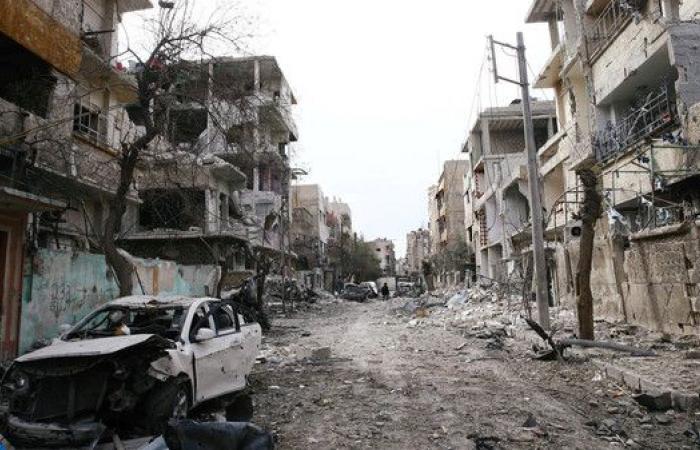 ماكرون يطالب روحاني بالضغط على الأسد لوقف هجمات الغوطة