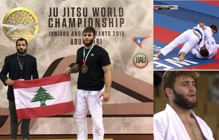 """لبنانيّ يحرز ذهبيّةً العالم في الـ """"جوجيتسو"""".. فما هي هذه اللعبة؟"""